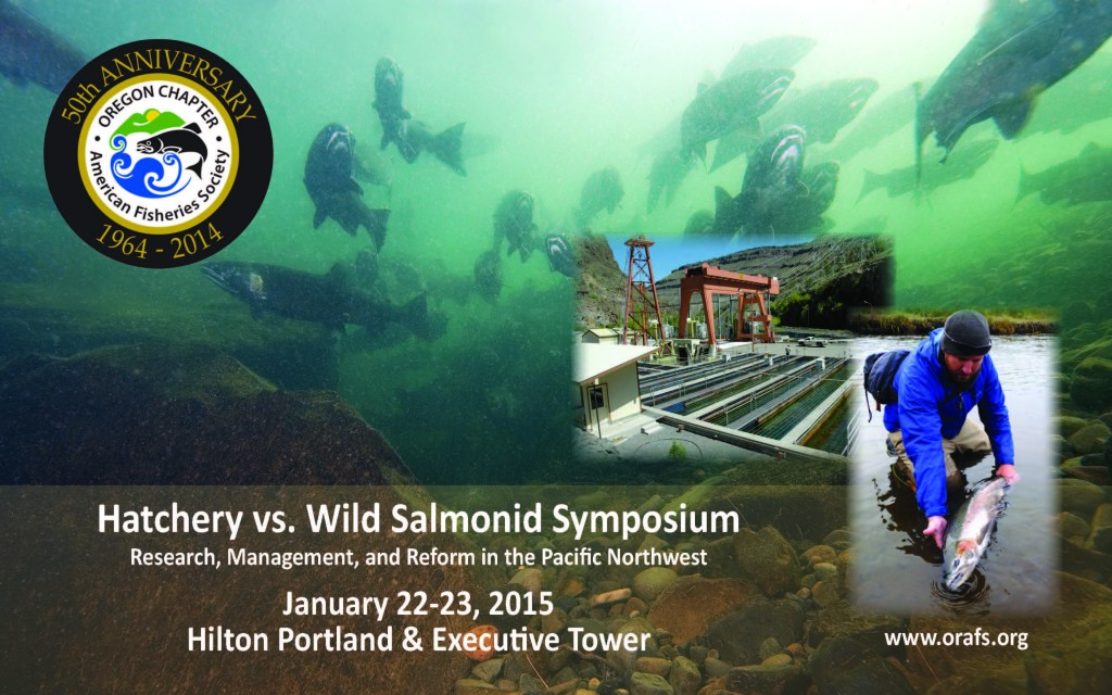 Hatchery-Wild Syposium Announcement Graphic